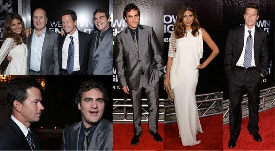 Eva, Joaquin & Mark Own the Night in NYC