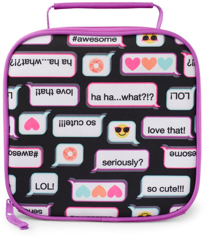 Girls Text Convo Lunch Box
