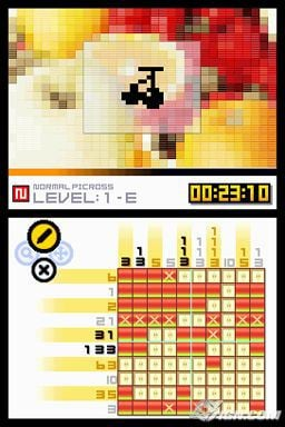 Picross DS: Another Fun Brain Teaser