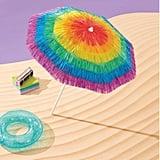 Tie-Dye Tassel Umbrella