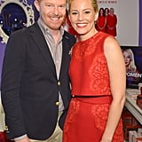 Jesse Tyler Ferguson and Elizabeth Banks posed together at the event in LA.