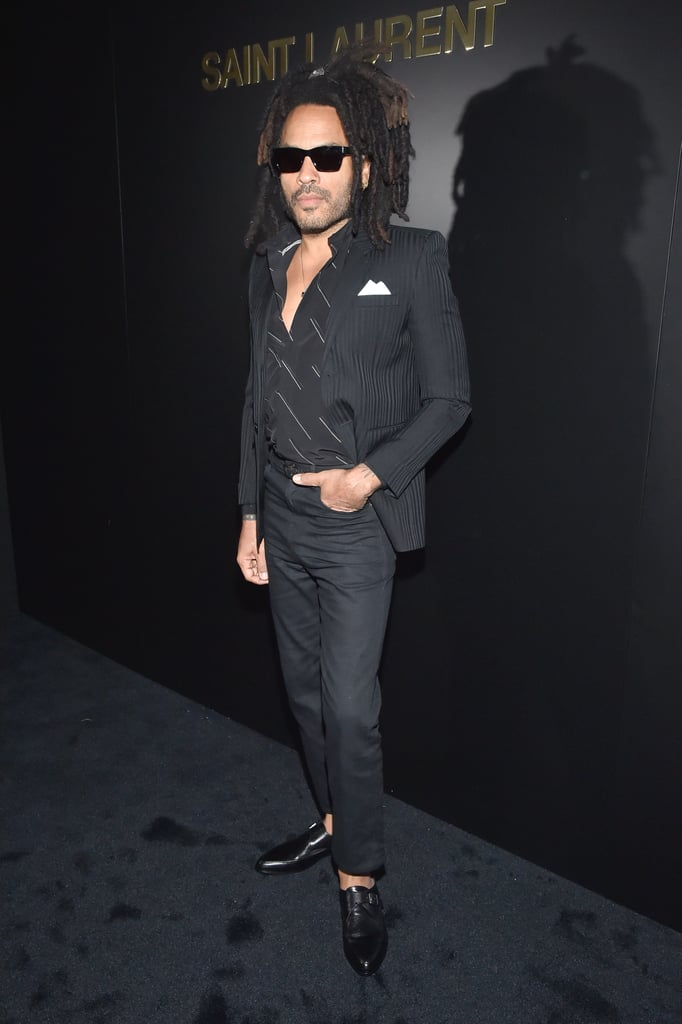 Lenny Kravitz at the Saint Laurent Fall 2020 Show