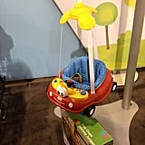 "The Diono Little Tikes Jumper — complete with the Cozy Coupe's signature eyes — will be available exclusively at Toys ""R"" Us."