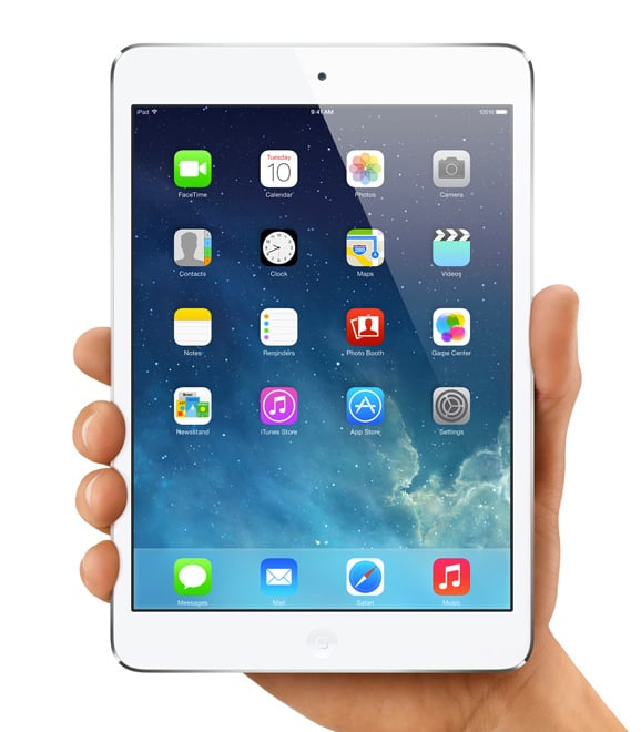 """Apple iPad Mini ($399-$699) """"For anyone who travels, the Mini is perfect, and they just released a new one. I can't go anywhere without mine."""""""