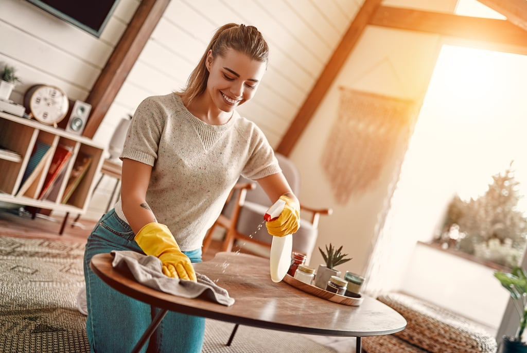 Setting Recurring Reminders For Household Chores