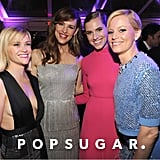 Reese Witherspoon, Jennifer Garner, Allison Williams, and Elizabeth Banks grouped up for a glamorous shot.