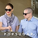 J Lo and Casper Take Their Time Browsing Jewelry Down Under