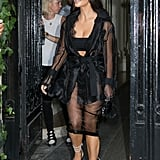 Kim Kardashian Out in Paris September 2016