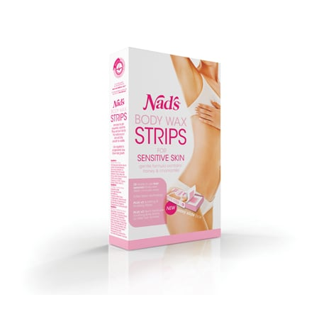 Nad's Body Wax Strips for Sensitive Skin, $14.95