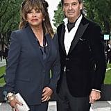 Tina Turner and Erwin Bach, 2013