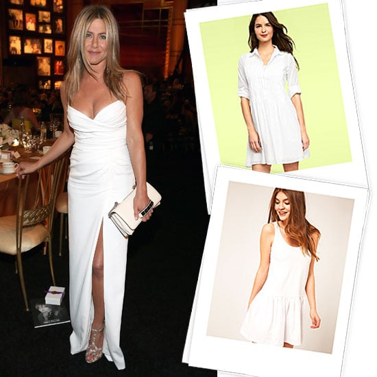 Jennifer Aniston Smolders In A Sexy White Burberry Dress Plus 50 Styles To Inspire You