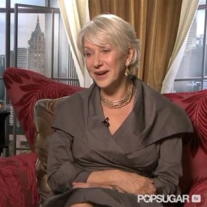 Video Interview: Helen Mirren Says She's Terrified to Host SNL, Loves Russell Brand