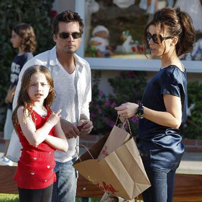 Kate Beckinsale and Family out in LA