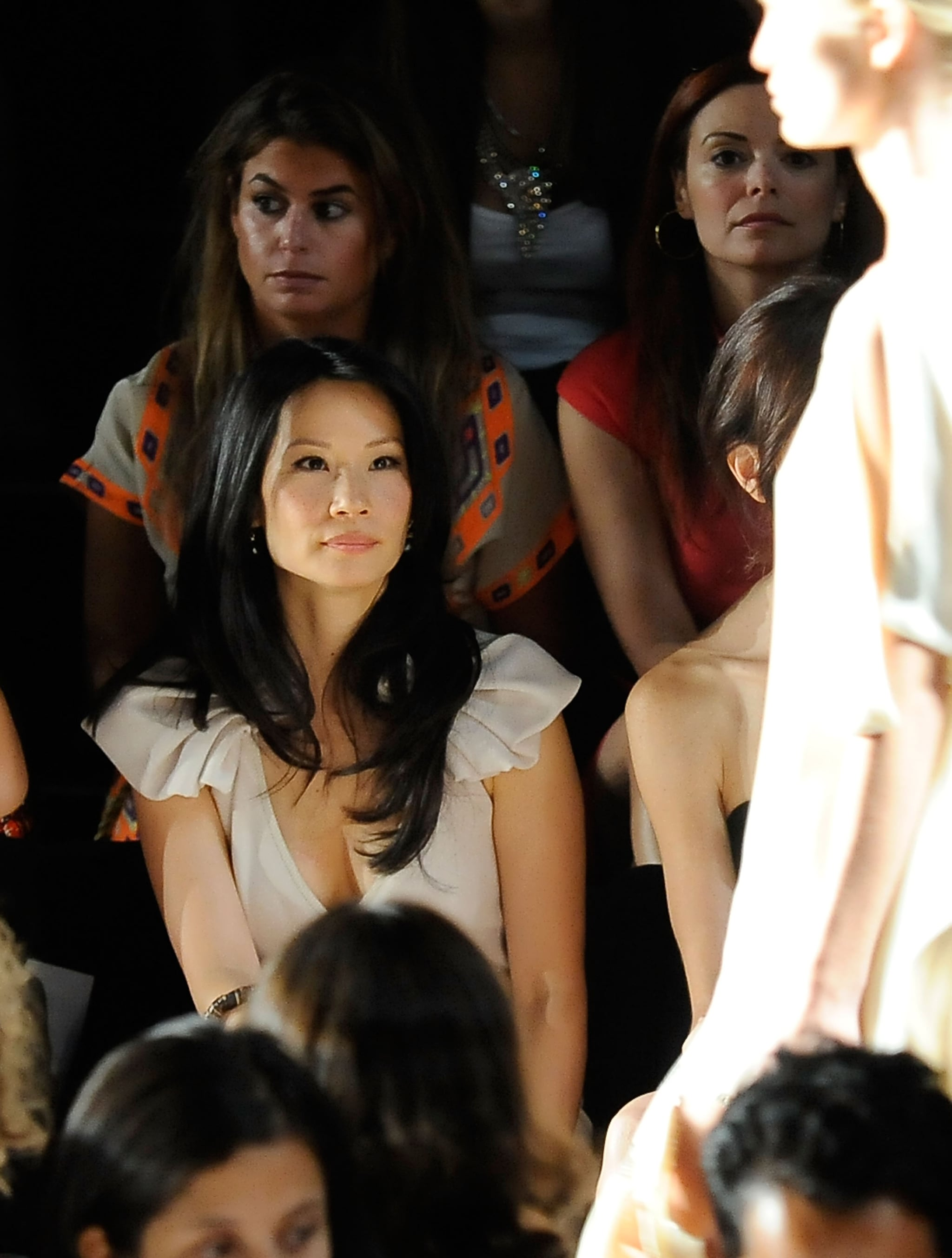 photos of celebrity guests from new york fashion week