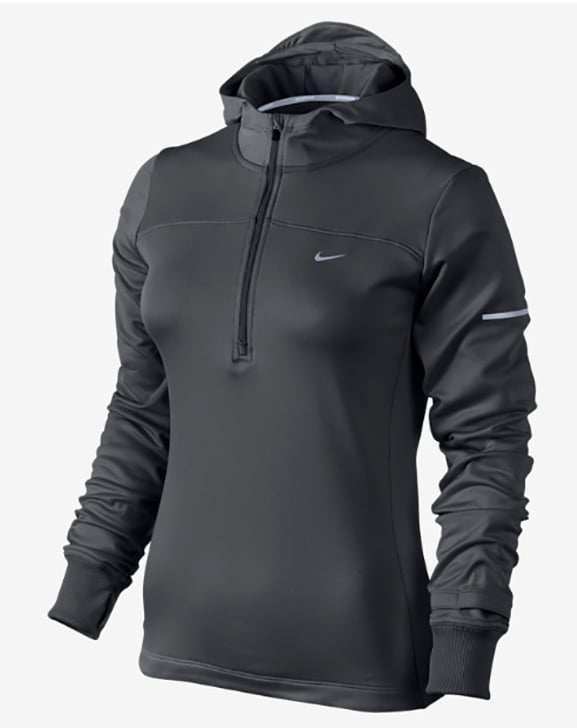 This Nike Thermal Running Hoodie ($85) is the perfect weight to keep comfortable on a long run. Side panels around your core keep you feeling fresh for longer, while the high-zip neckline and hoodie will keep you warm but not too toasty.