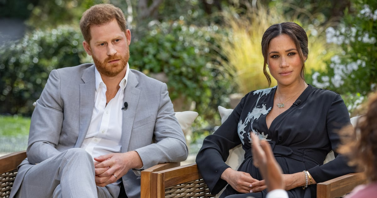 The Palace Responds to Meghan Markle and Prince Harry's Tell-All in a Very Brief Statement