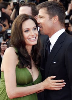 Photo of Angelina Jolie and Brad Pitt, Who Donated $2 Million to Ethiopian Children's Health Clinic