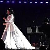 Demi Lovato's Christian Siriano Grammys Performance Gown