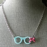Glasses and Bow Necklace