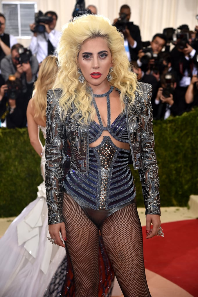 Lady Gaga at the Met Gala 2016