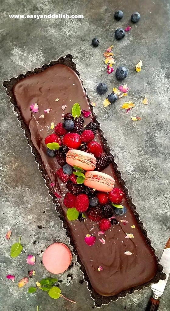 5-Ingredient No-Bake Nutella Tart