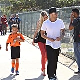 Ryan Phillippe With His Girlfriend at Deacon's Soccer Game