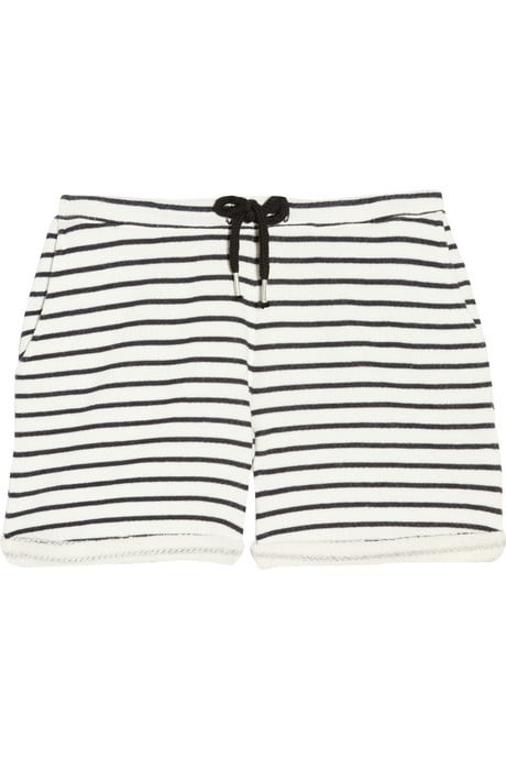 Wearing stripes down below is a fun way to add a twist to your Summer look.  Aubin & Wills Rollesby Shorts ($80)