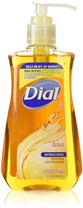 Dial Gold Antibacterial Liquid Soap ($5)