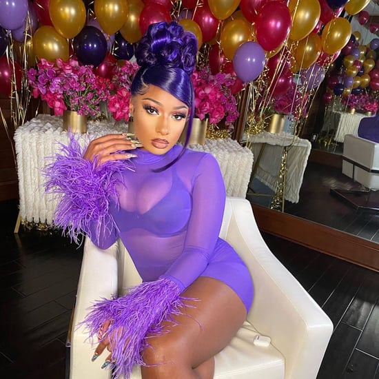 Cardi B and Megan Thee Stallion's 90s Updo Hairstyle Trend
