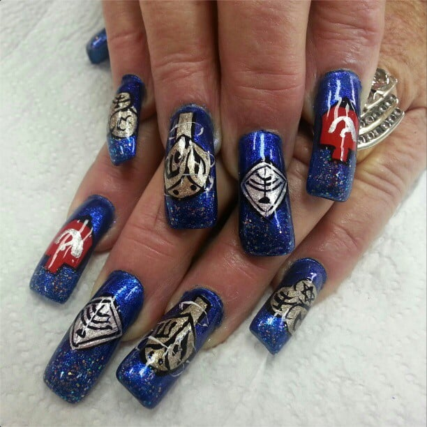 Holiday Nails Hours: I Had A Little Nail Art . . .