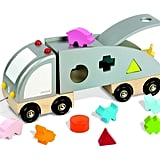 Janod Wooden Shape Sorting Truck ($40)
