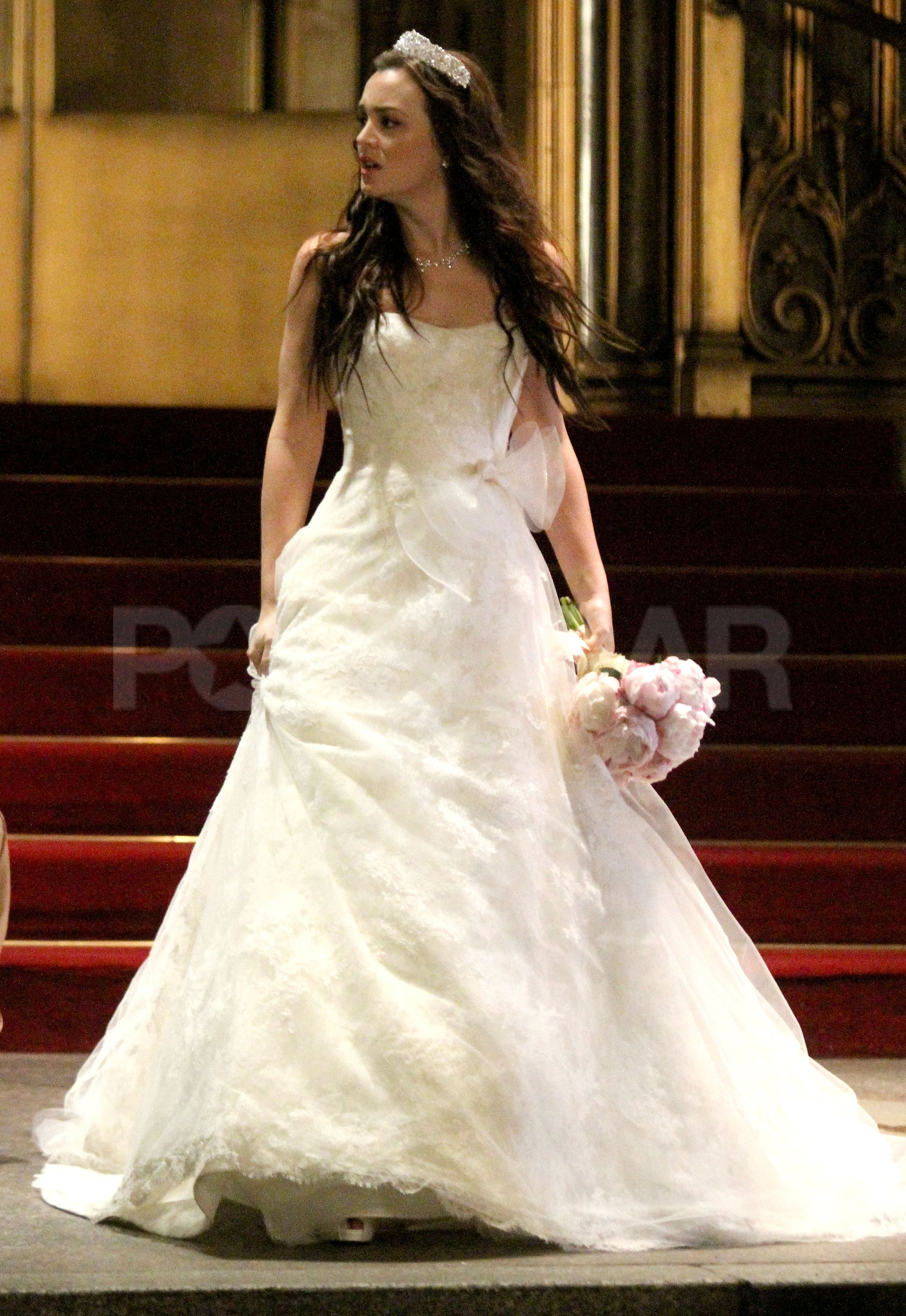 Blair Waldorf Blue Wedding Dress For : Style icons part ii blair ...