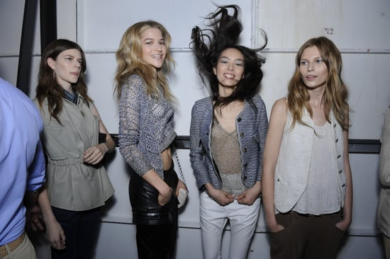 Spring 2012 Backstage Pictures: Rodarte, Narciso Rodriguez, Oscar de la Renta, Sophie Theallet, Theyskens' Theory