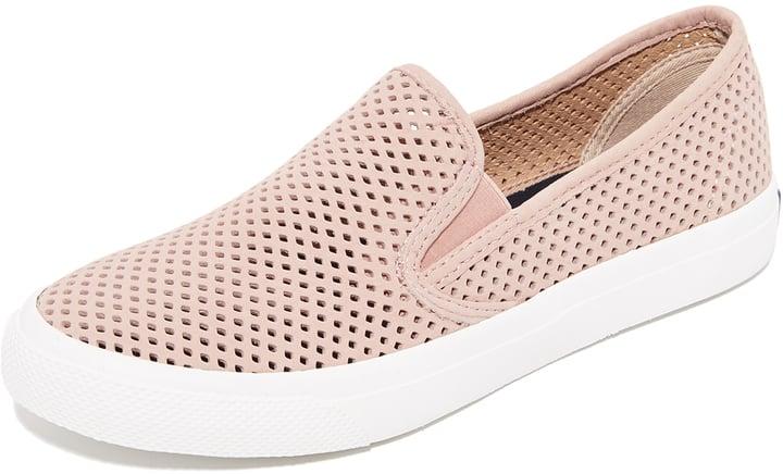 Sperry Seaside Perforated Slip-On Sneakers