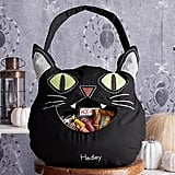 Black Cat Bucket Tote