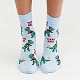 ASOS Design Holidays Tree Rex Ankle Socks