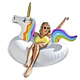GoFloats Unicorn Party Tube Inflatable Swimming Pool Raft