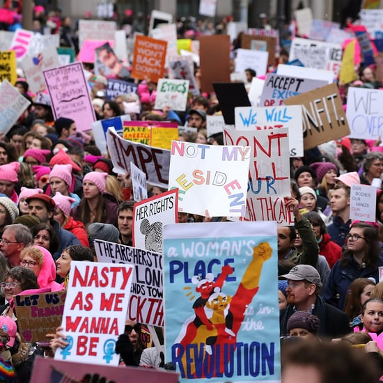 Women's March Increased Art Supply Sales