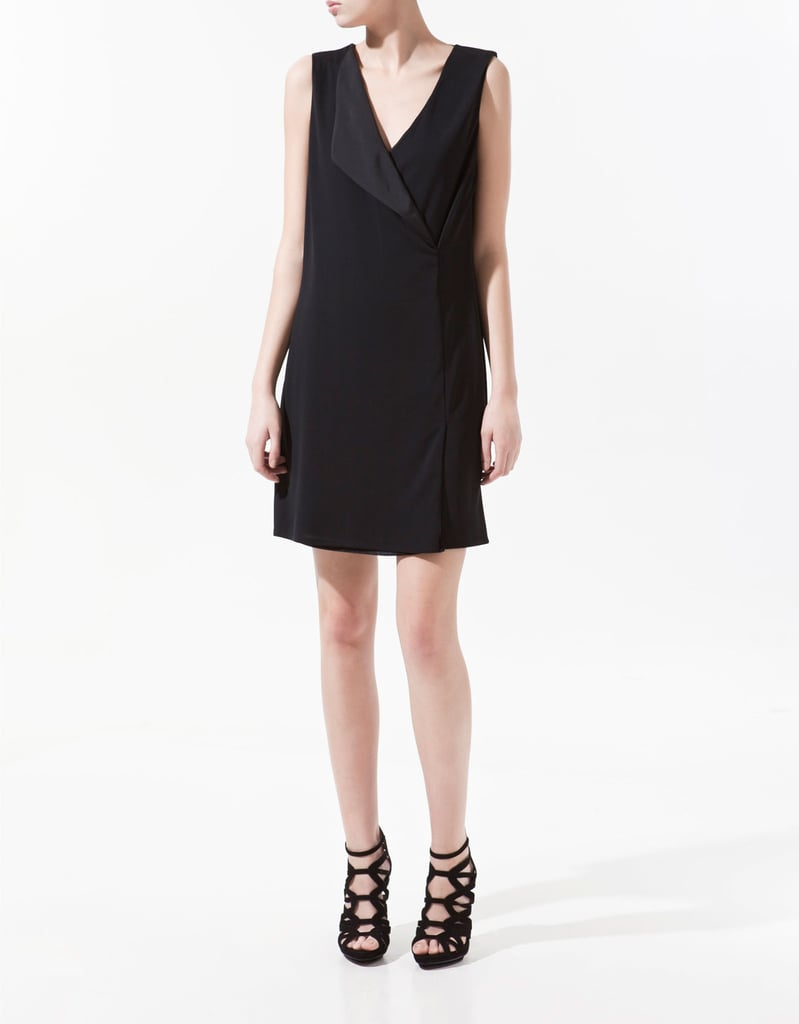 We love this menswear-inspired spin on the LBD.