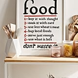 Food Rules Art Print