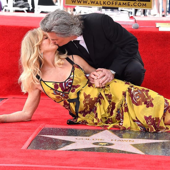 Goldie Hawn and Kurt Russell at Hollywood Walk of Fame 2017