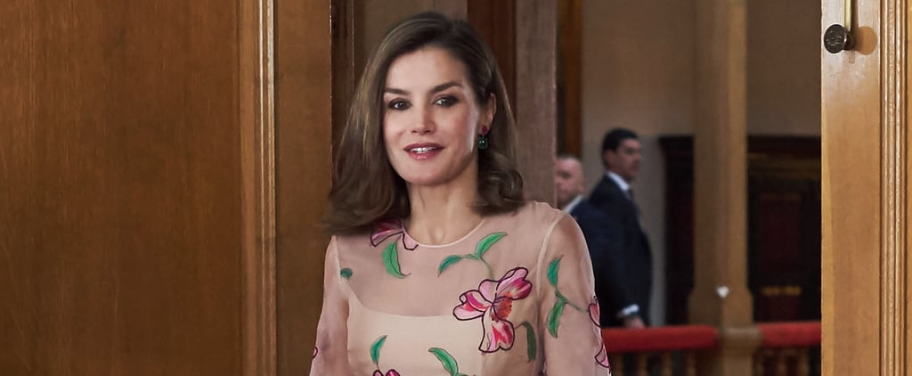 Queen Letizia's Floral Dress