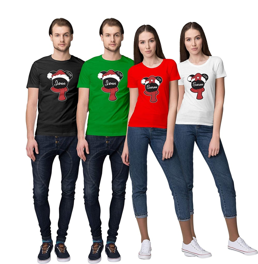 Matching Family Christmas Outfits Australia.Mickey Minnie Merry Christmas Family Holiday Disney