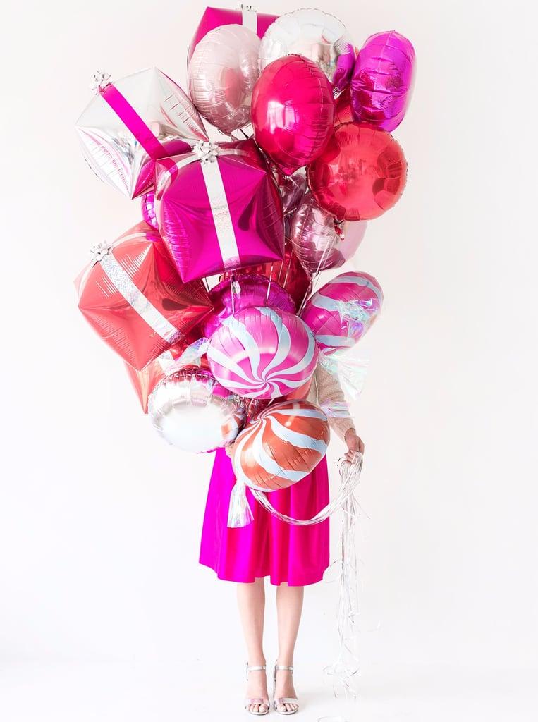 Holiday Balloon Decor DIY