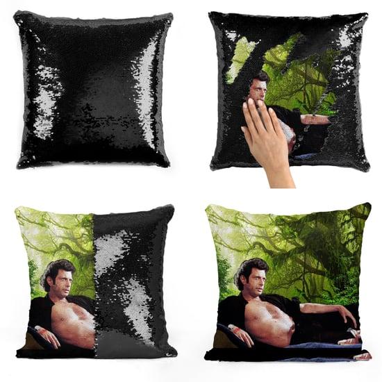 Jeff Goldblum Sequin Pillows