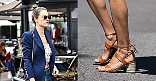 Alessandra Ambrosio's Summer Sandals Are the Type You Can Wear With, Well, Just About Everything