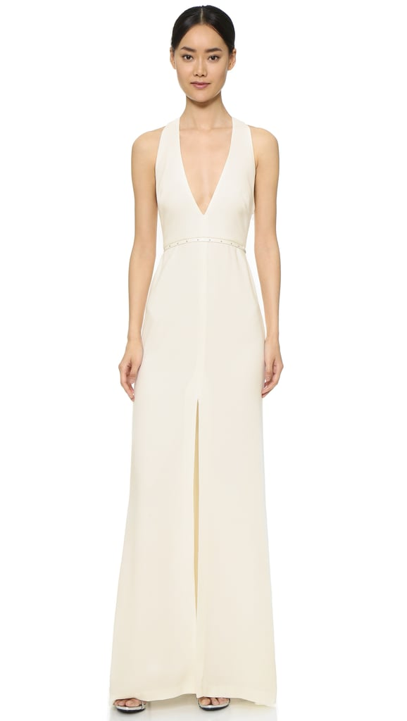 Halston Heritage Modern Gown with Hardware ($445)