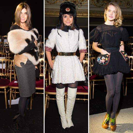 All the Front Row Style From Paris Couture Fashion Week
