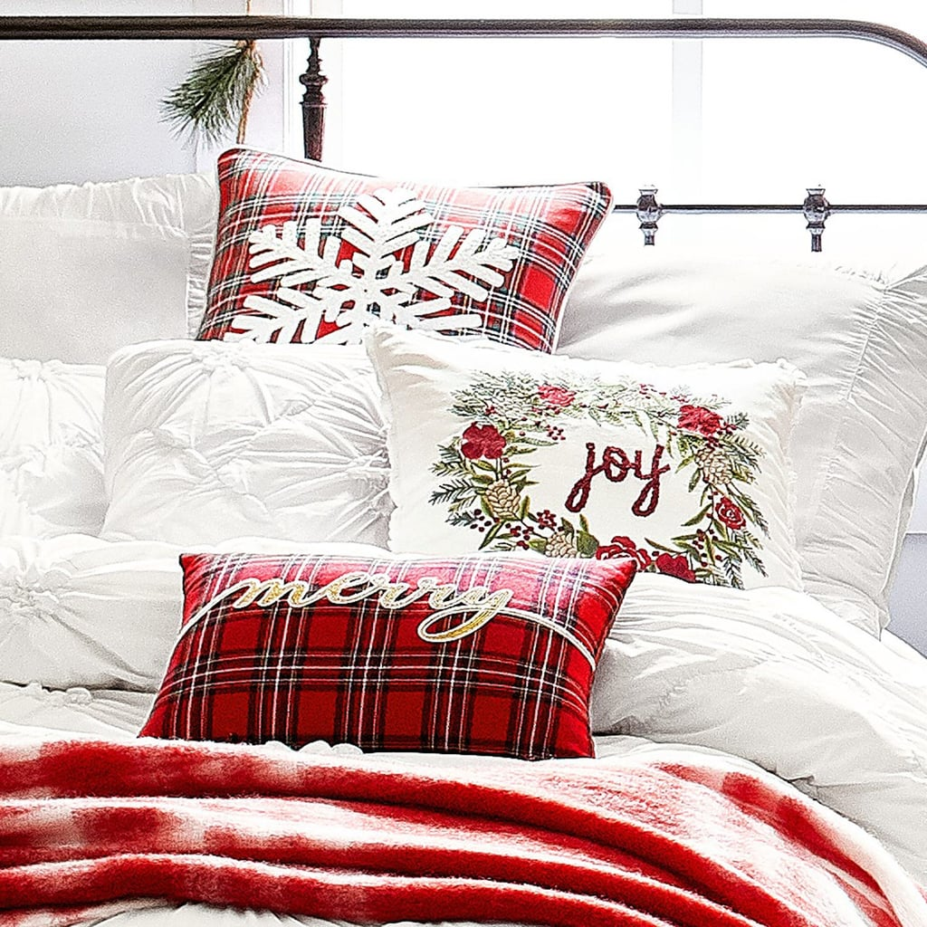 Tartan Plaid Merry Pillow