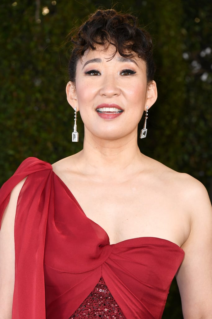 Sandra Oh Lipstick at SAG Awards 2019
